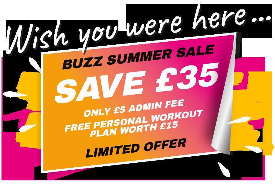 Buzz Summer Sale