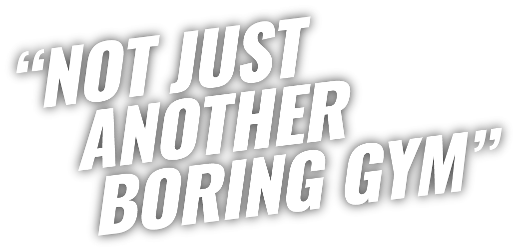 Not just another boring gym