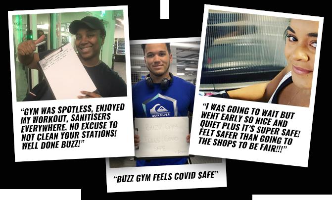 Buzz Gym Testimonials