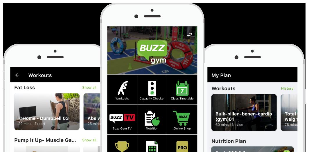 Buzz Gym App